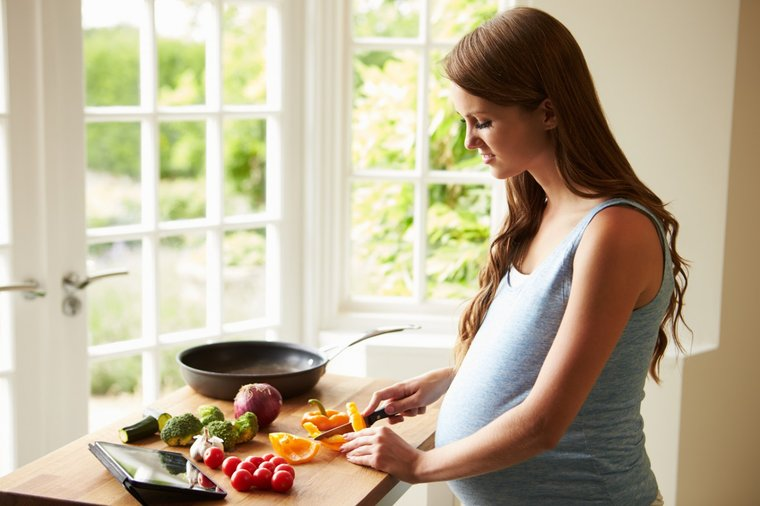Как правильно питаться в третьем триместре беременности